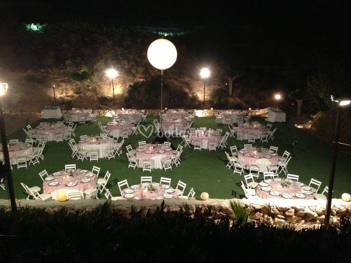 Montaje banquete