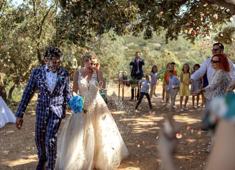 La boda de Ali y Pilar