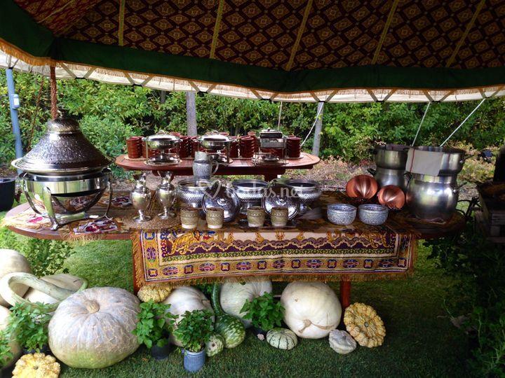 Gastronomía punto árabe