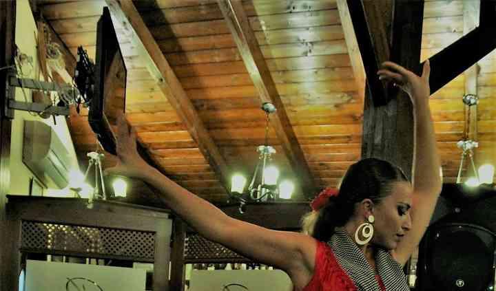 Cuadro flamenco baile