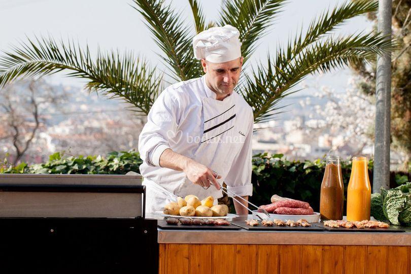 Barbacoa (show cooking)