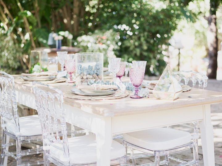 Mesas al aire libre
