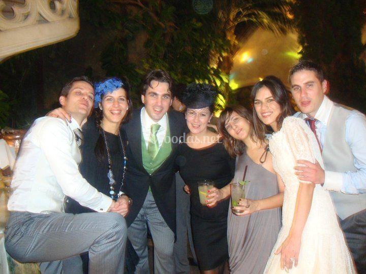Novios y amigos