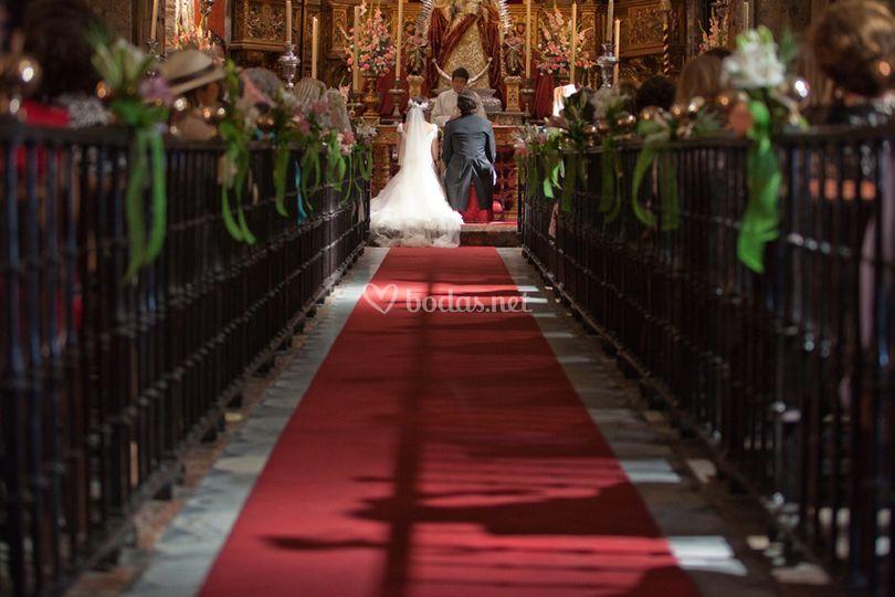 Organización de boda en Iglesia de Sta Ana