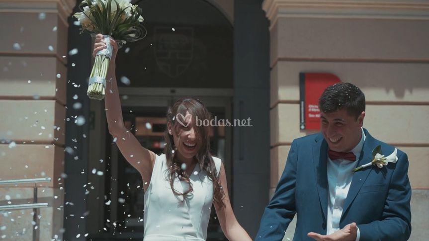 Vídeo de boda de Marta y Xavi