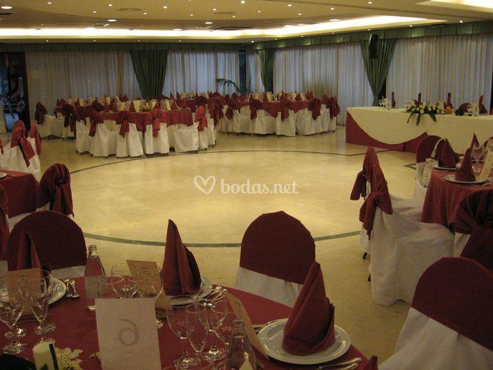 Salón banquetes Vall d'Arús