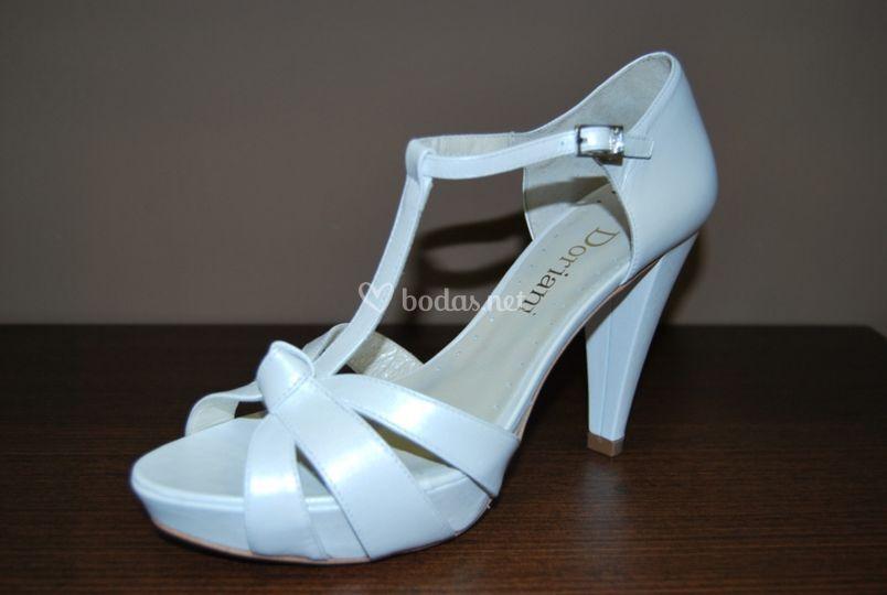 Sandalia para novia