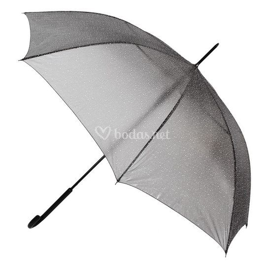 Paraguas semitransparente