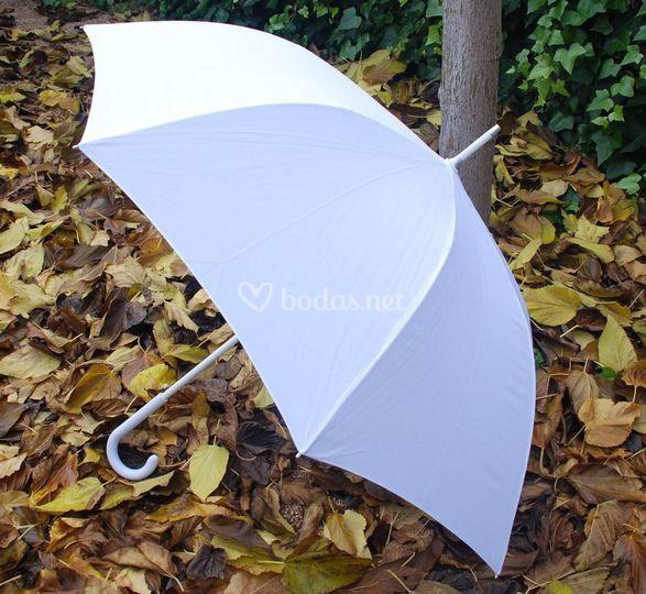 Paraguas de novia liso