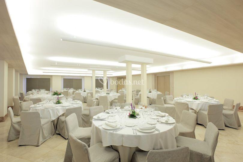 Un gran salón para una gran boda