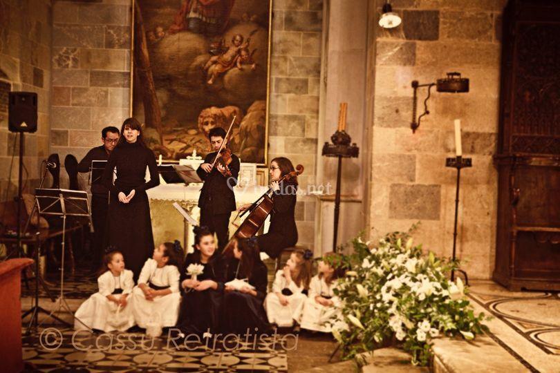 Cuarteto de cuerda - Boda en Barcelona