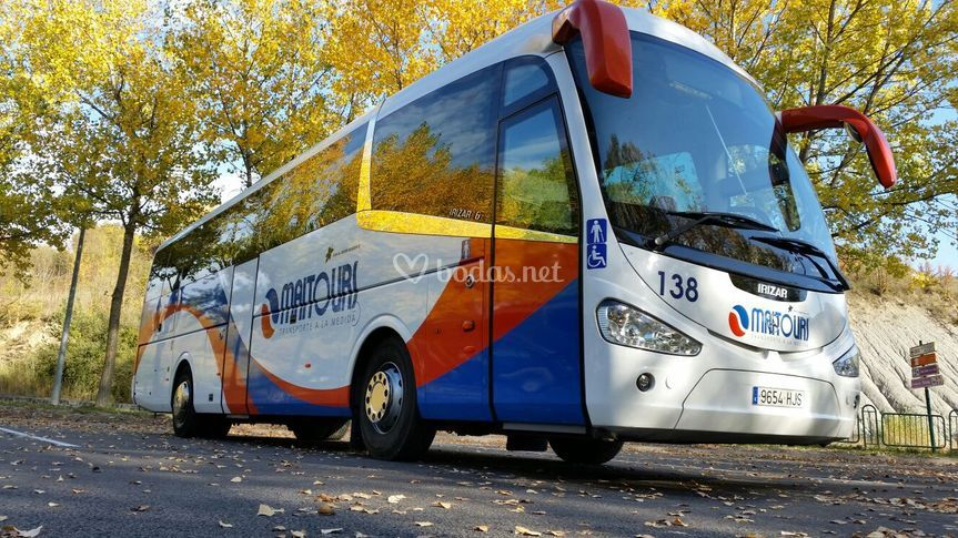 Autobús maitours para tu boda