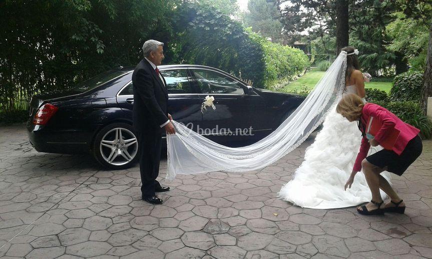 Transporte para tu boda