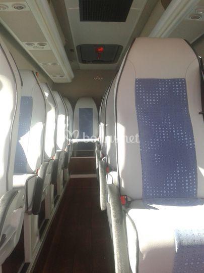 Interior minibuses 19 plazas