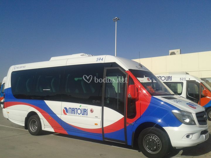 Minibuses 19 plazas para bodas