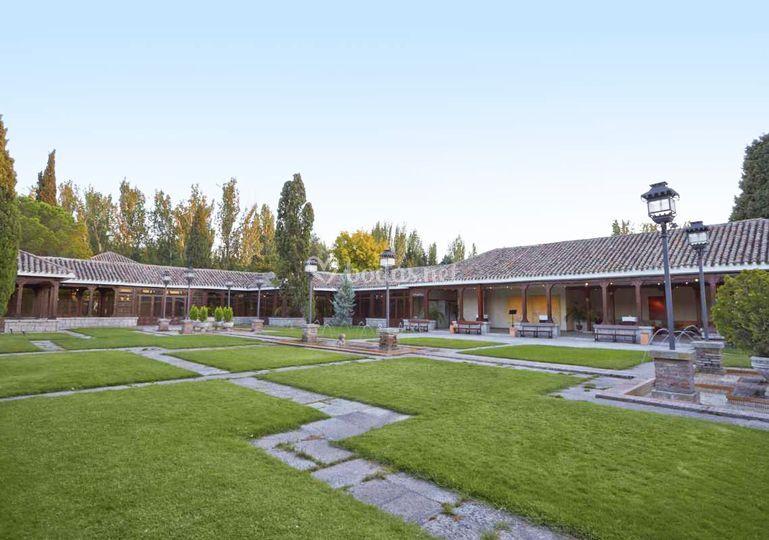 Los porches de La Quinta de Illescas