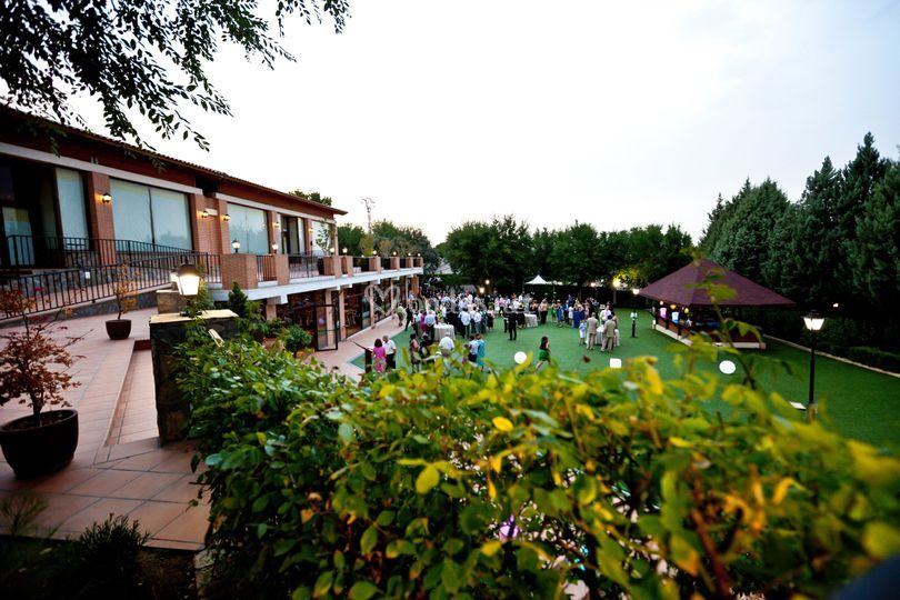 Jardín para cóctel
