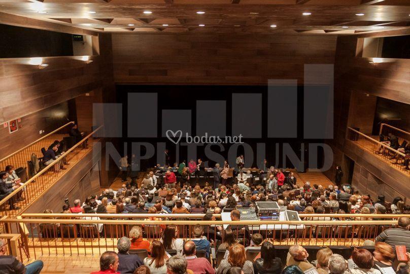 Sonorización teatro