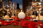 Detalle mesa banquete de Masia Museu Serra