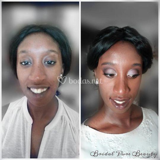 Antes y después de Aminata