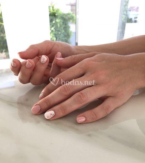 Manicura permanente nupcial