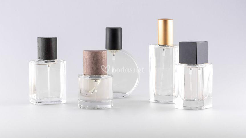 Diferentes botellas