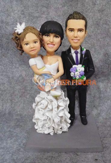 Muñeco personalizado de boda