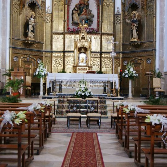 Decoracion iglesia Almagro
