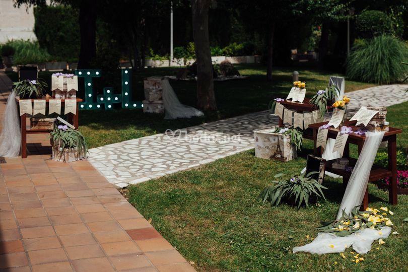 El jard n rom ntico for El jardin romantico