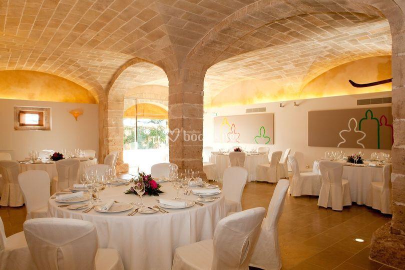 Ses Bóvedes, sala banquete.