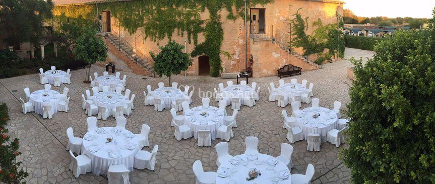 Banquete Patio Arxiduc