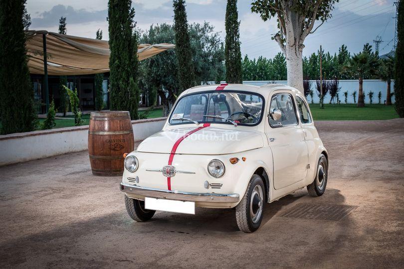 Fiat 500 cabrio 1957