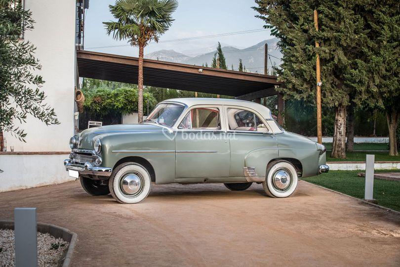 Vauxhall wyvern modelo 1956