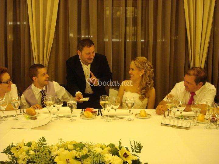 En Barcelona, con Guillermo y Laura