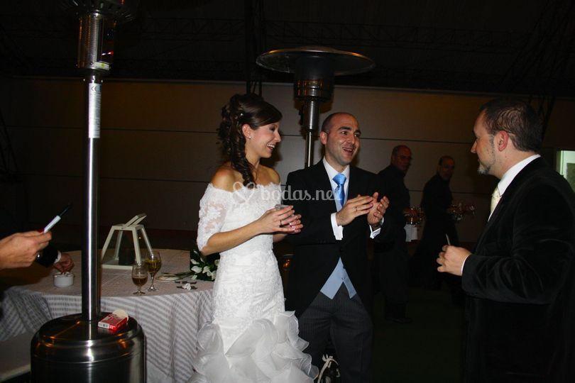 Madrid con Israel y Sara