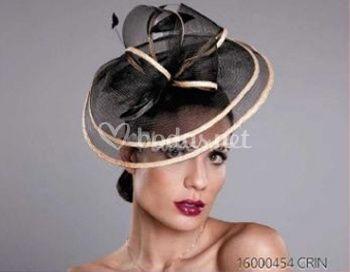 Tocado sombrero