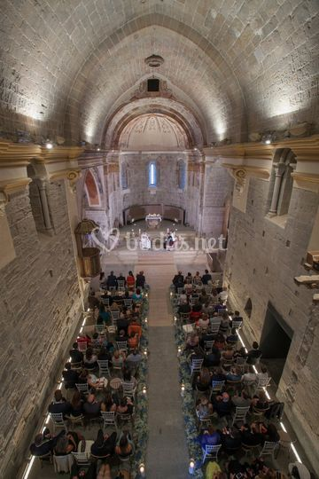 Ceremonia religiosa iglesia