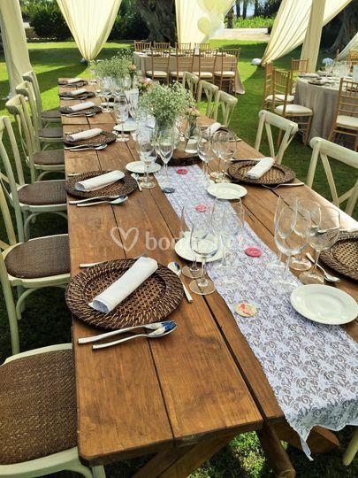 Preciosas mesas