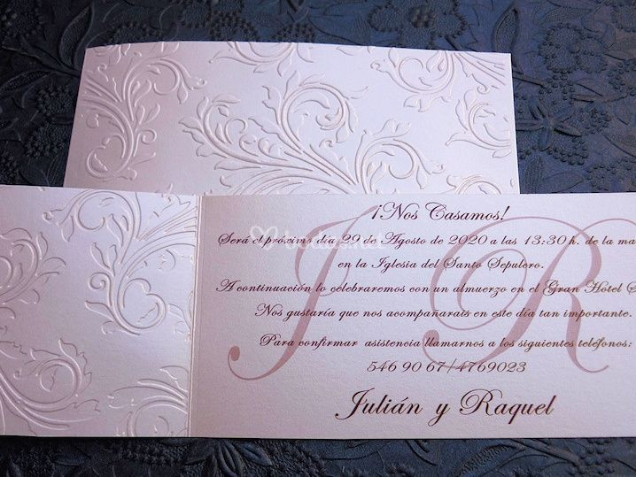Invitación Waldorf