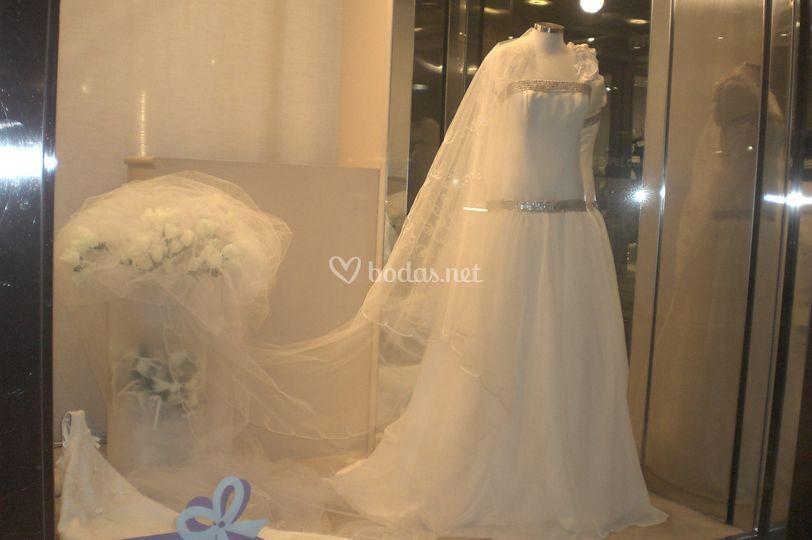 Vestido novia diseño único