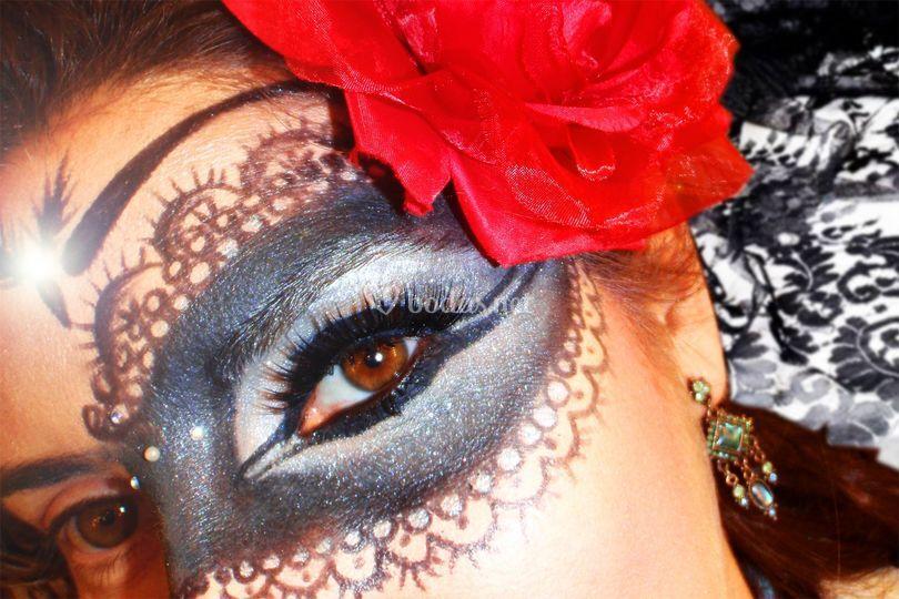 Mascara de Fantasia Detalle