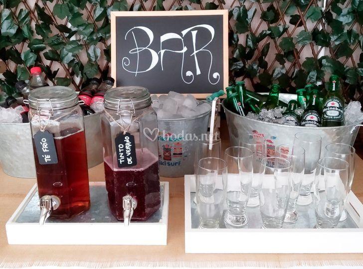 Rincón de bebidas