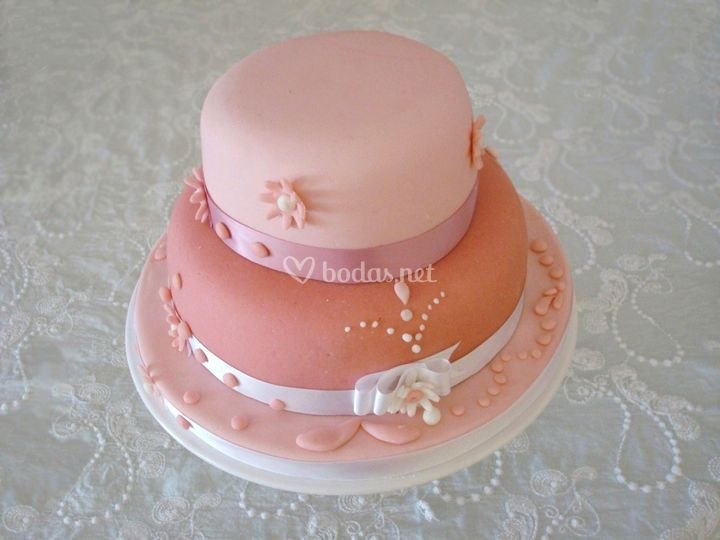 Tarta de bodas personalizada