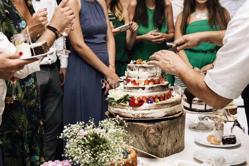 La tarta nupcial