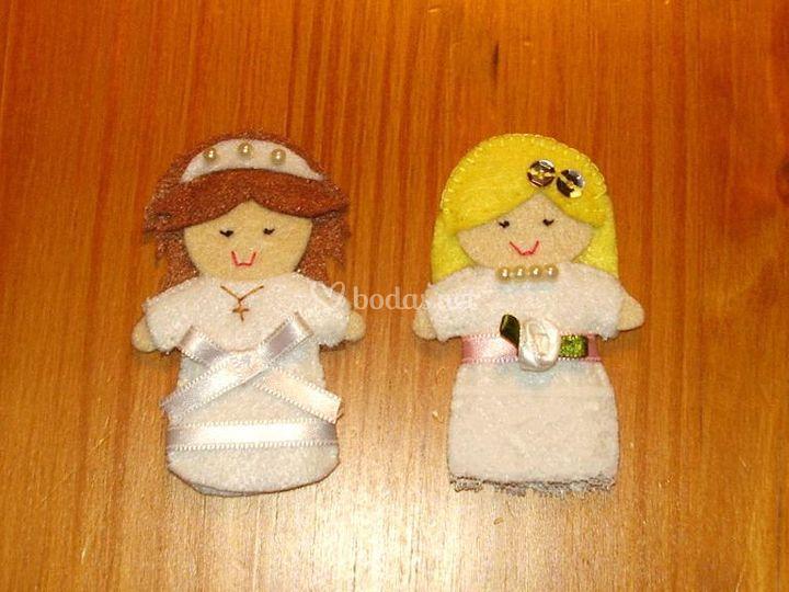 Muñequita novia y de comunion