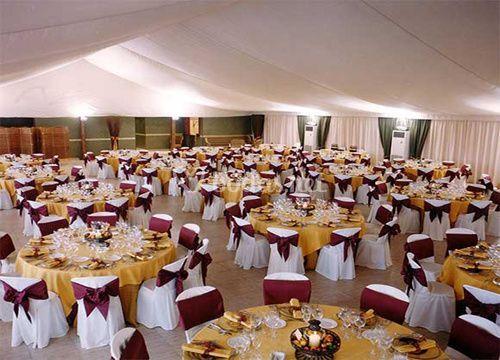Montajes para banquetes