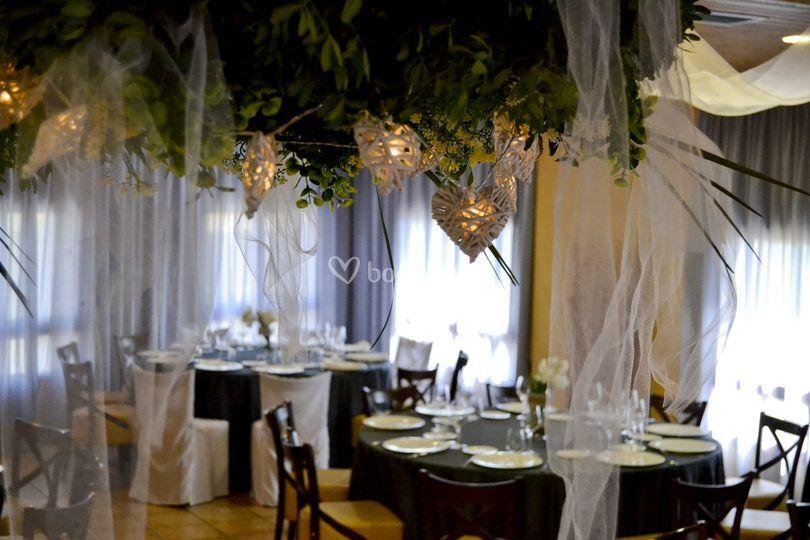 Salones de Restaurante La Pedrera
