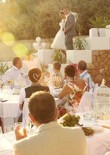 El banquete en Cas Mila