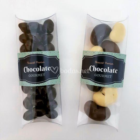 Estuches de chocolate