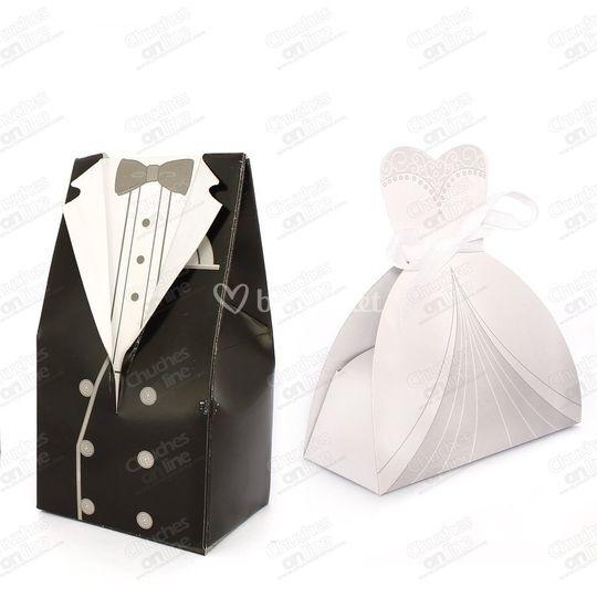 Cajitas novio o novia